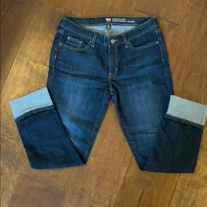 Used Like New Gap Straight Cuff Jeans